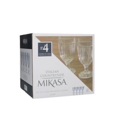 Mikasa Italian kpl 4 kieliszków clear