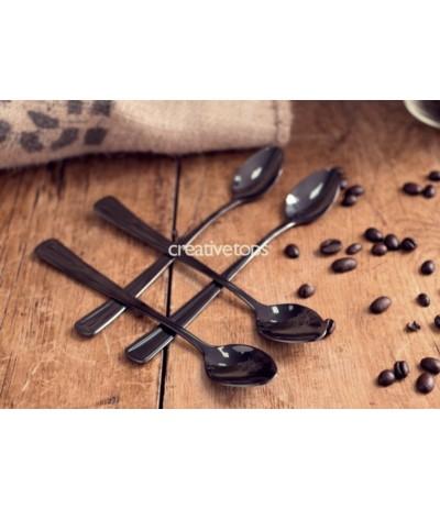La Cafetiere Kpl 4 łyżeczek latte grafit