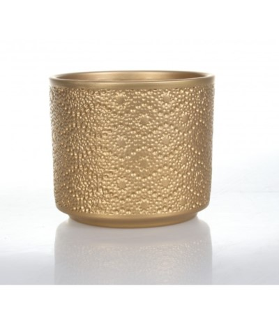 Cer Osłonka ceramiczna cylinder złoto 12