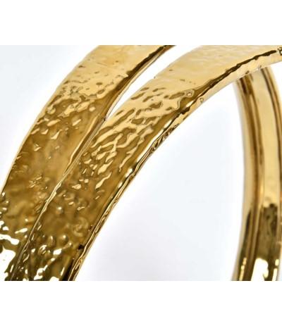Gold Line Świecznik koło c