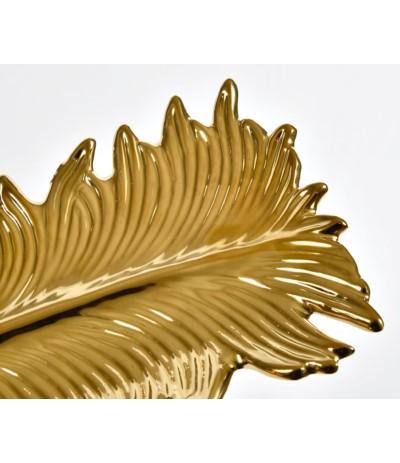 Gold Line Patera liść