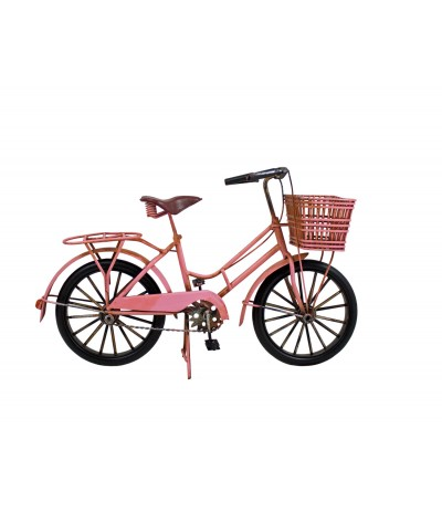 H.Rower retro różowy