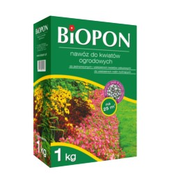 Biopon nawóz do kwiatów ogrodowych 1kg