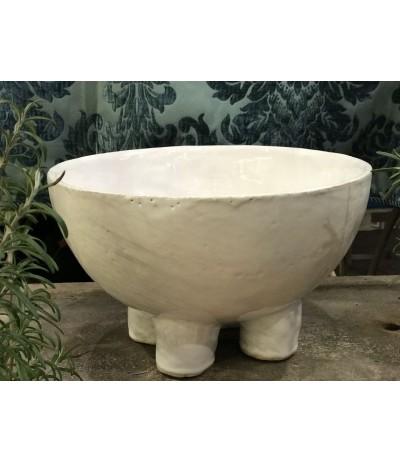 B.Misa ceramiczna na nogach biała