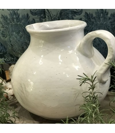 B.Dzban ceramiczny biały