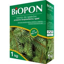 Biopon Nawóz do iglaków p/brunatnieniu 3kg