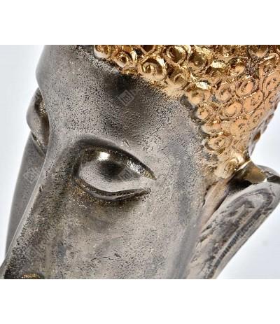 Etno Figurka Głowa Buddy