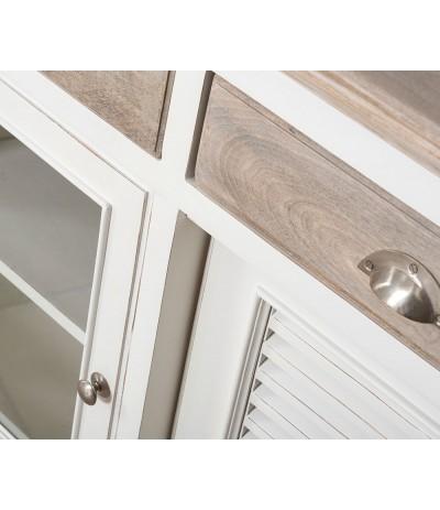 Bristol White Komoda 3-drzwiowa