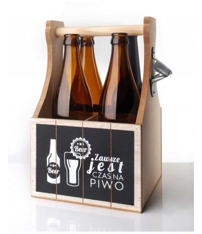 M.Skrzynka na piwo z otwieraczem