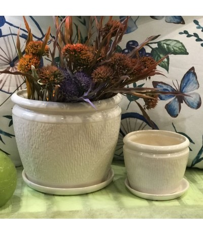 Donica ceramiczna kora 21