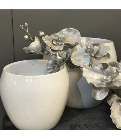 Cer.Beczułka osłonka ceramiczna krem 19