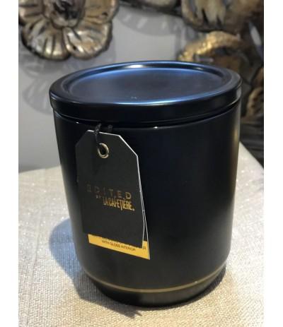 R.La Cafetiere Pojemnik ceramiczny czarny