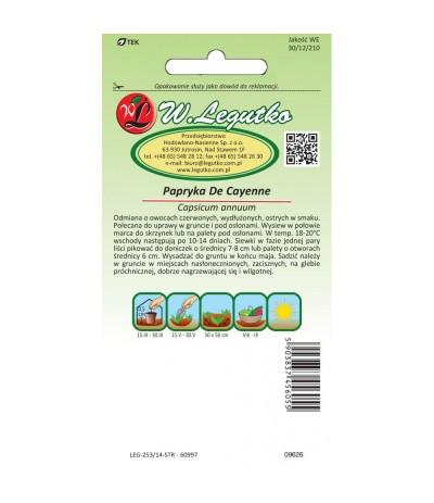L.Papryka ostra De Cayenne