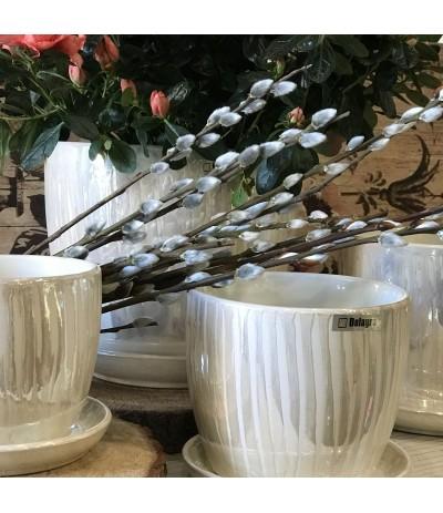 Dol Donica ceramiczna z podst krem