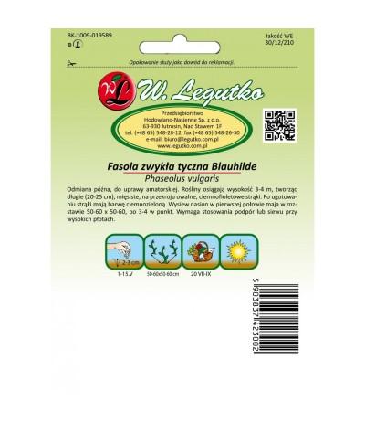 L.Fasola szparagowa Blauhilde