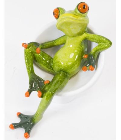 A.P.Żaba na fotelu