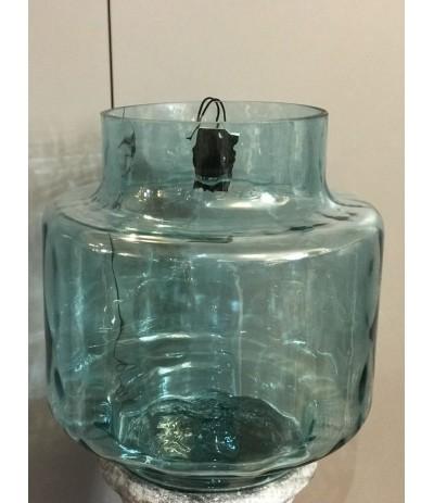 J.Wazon szklany turkus