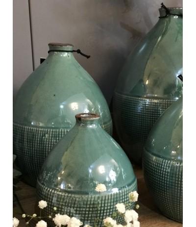 J.Wazonik ceramiczny turkus