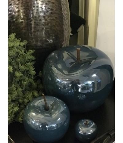 J.Jabłko ceramiczne granat