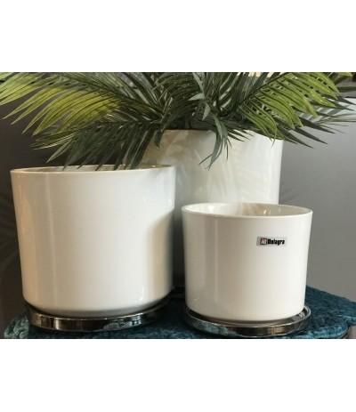 Dol.Osłonka ceramiczna z podst biała