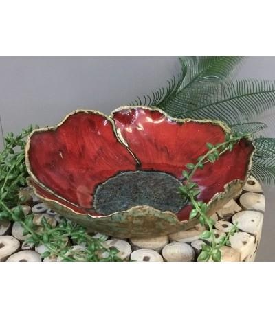 B.Patera ceramiczna Mak średnia