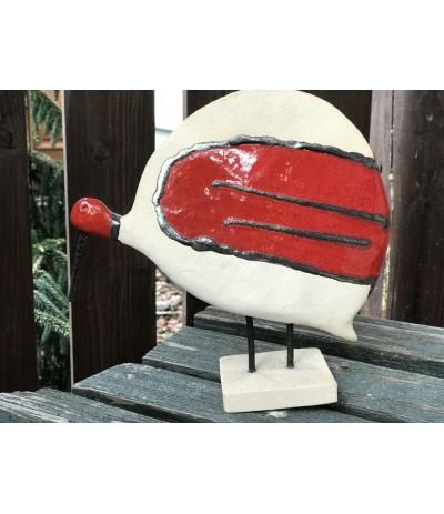 B.Ptak ceramiczny perliczka
