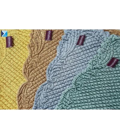 I.Velvet podkładka 35/50cm Musztardowa