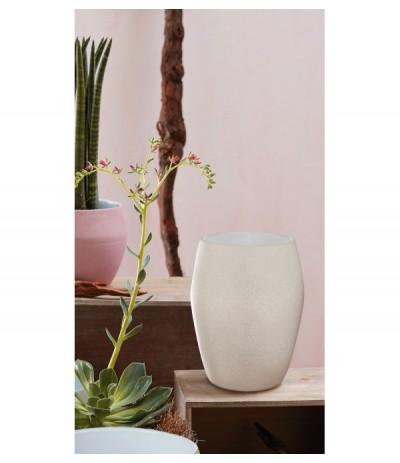 Cer.Osłonka ceramiczna 20cm krem