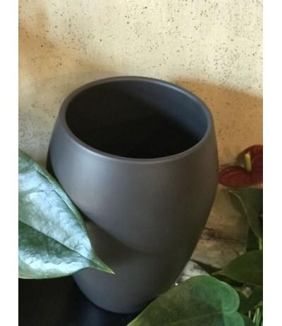 Cer.Osłonka ceramiczna 20cm czarna