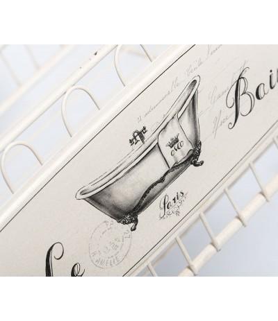 Wenecja Wieszak łazienkowy z półką