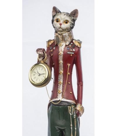 A.P.Figurka Kot z Zegarem