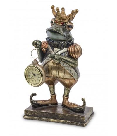 A.P.Figurka Żaba z Zegarem