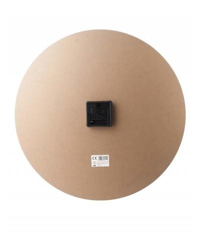 M.Zegar 60cm Arabskie cyfry czarny