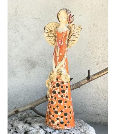 B.Anioł ceramiczny ażurowany  Pokrzywiak