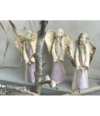B.Anioł ceramiczny szamot Krysia