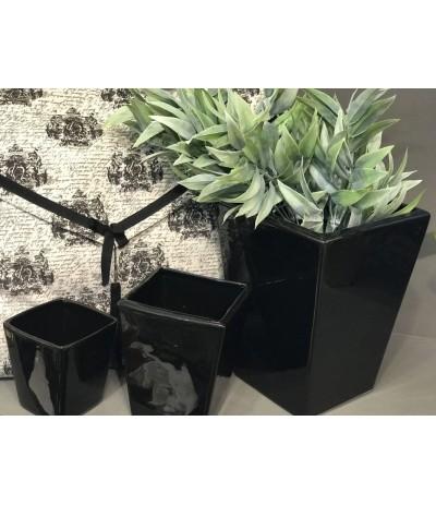 Osłonka ceramiczna Kamil h-23 czarna