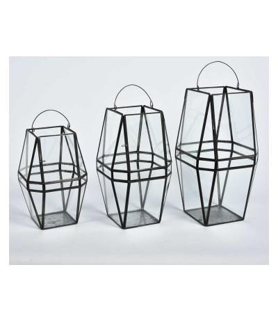 Nero Lampion szklany 3A