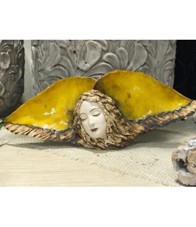 B.Anioł ceramiczny wiszący Mydwak