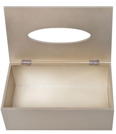 E.Pudełko na chusteczki złoty liść