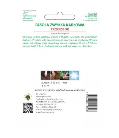 L.Fasola zwykła karłowa Processor