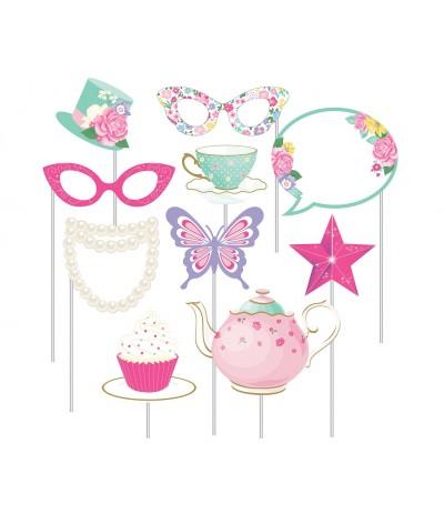 G.Rekwizyty do zdjęć Floral Tea Party 10szt