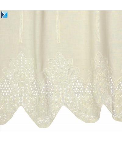 I.Diana-zazdrostka szydełko+tkanina 70/100cm Krem