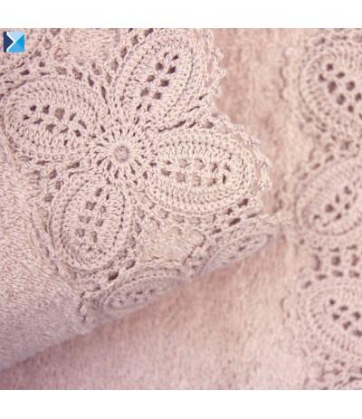 I.Koronka Ula ręcznik 70/140cm Róż