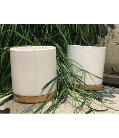 P.Cylinder bamboo - osłonka white