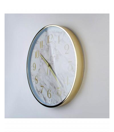 M.Zegar okrągły marmurek