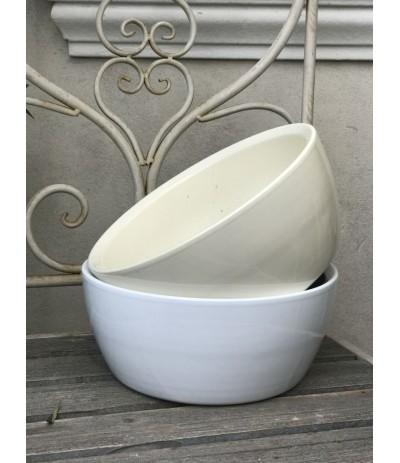 Cer.Osłonka ceramiczna misa 27cm krem