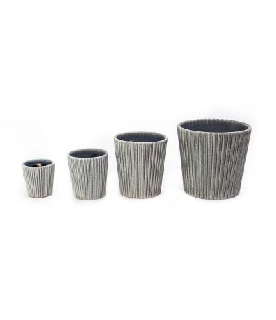 C.Terrassa Osłonka ceramiczna szara 10