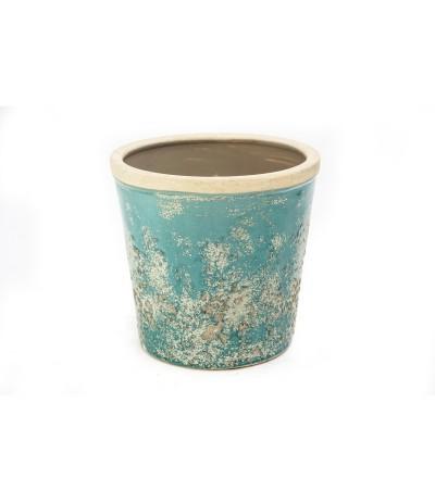 C.Kartagena Osłonka ceramiczna turkus 16