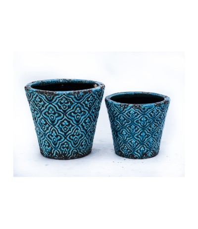 C.Benidorm Osłonka ceramiczna Turkus 15