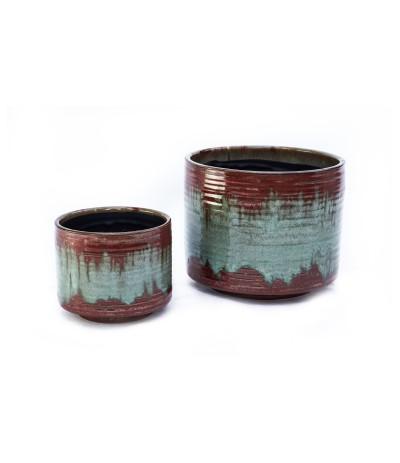 C.Bilbao Osłonka ceramiczna Bordo na nóżkach 14